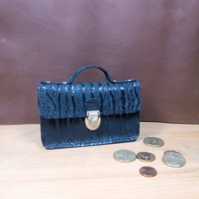 Porte monnaie cuir Z comme Zara