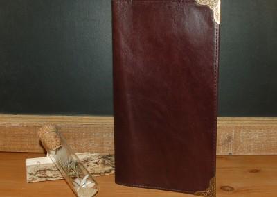 Porte feuille cuir élégant et vintage