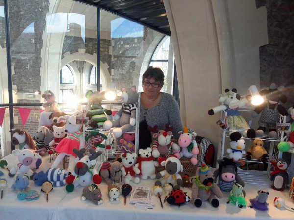 Isabelle Sorin, animaux en laine, au crochet, cherbourg