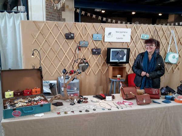 Maroquinerie du Cotentin création en cuir véritable