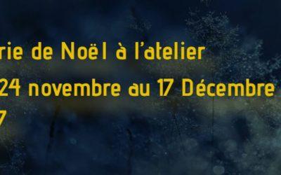 Féerie de Noël à la Maroquinerie