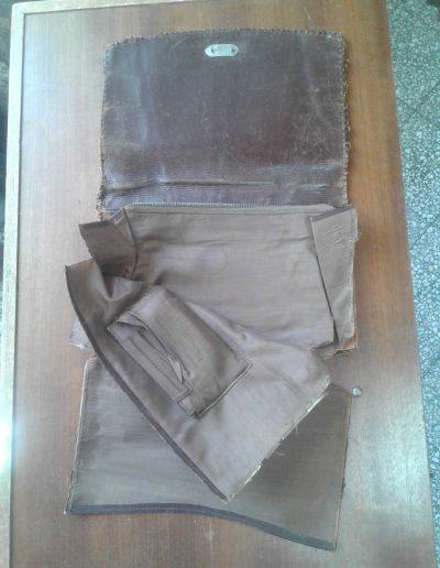 Restauration d'un sac à main des années 40
