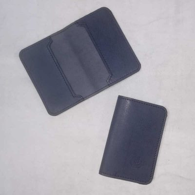 Porte cartes en cuir made in Normandie