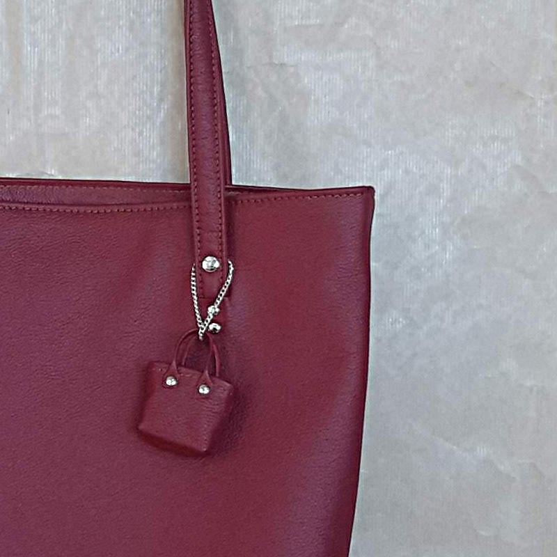 Zoom-mini sac cuir