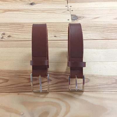 Ceinture cuir made in france deux tailles